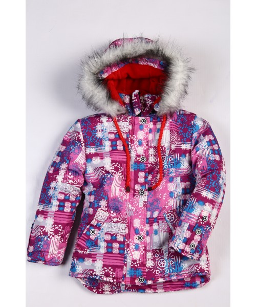 куртка для девочки (зима)